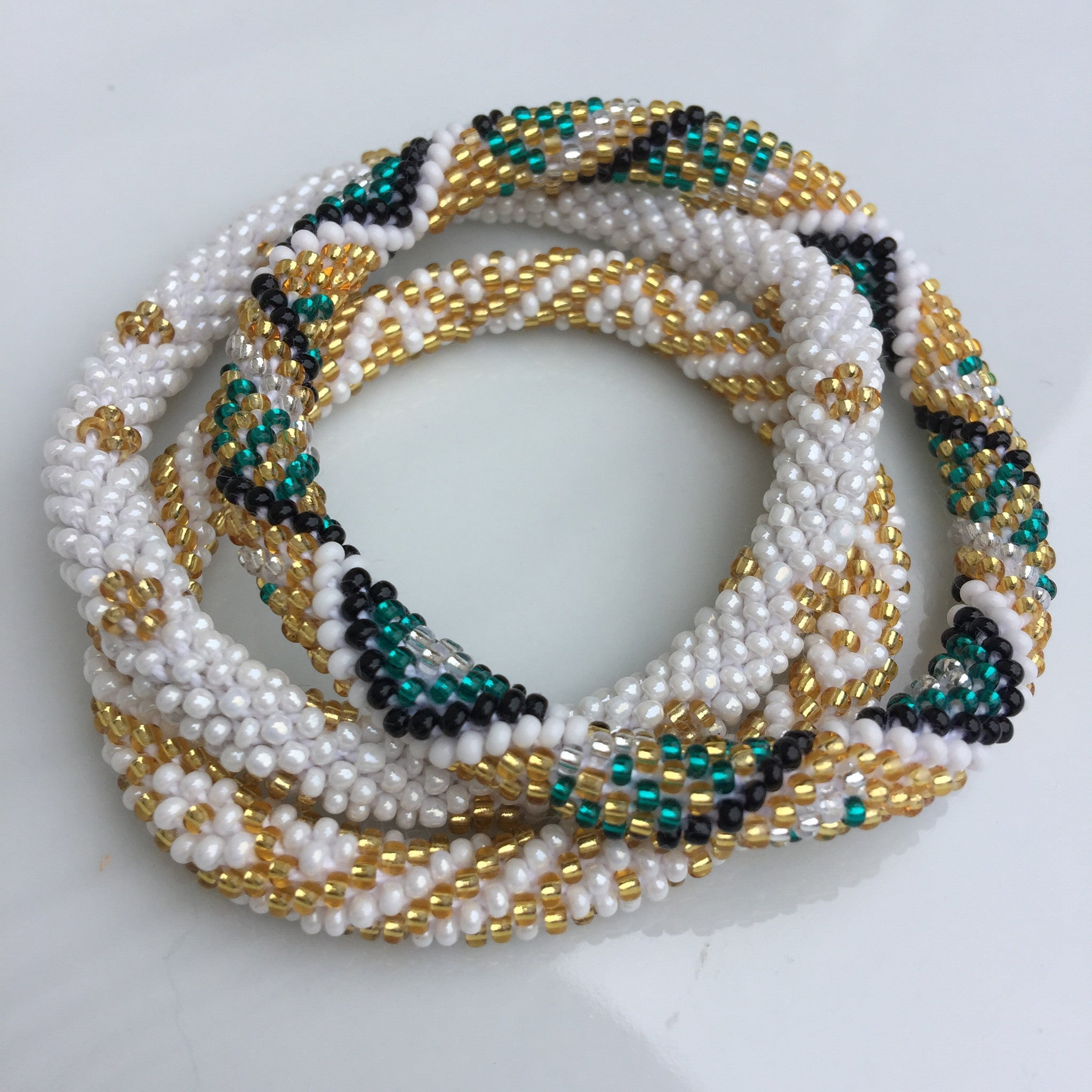 Roll On Fair Trade Bracelet Set- 11
