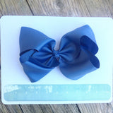 Gigantic Hair Bow - Royal Blue - Cutie Bowtutie