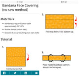 DIY Bandana Mask Kit - Cutie Bowtutie