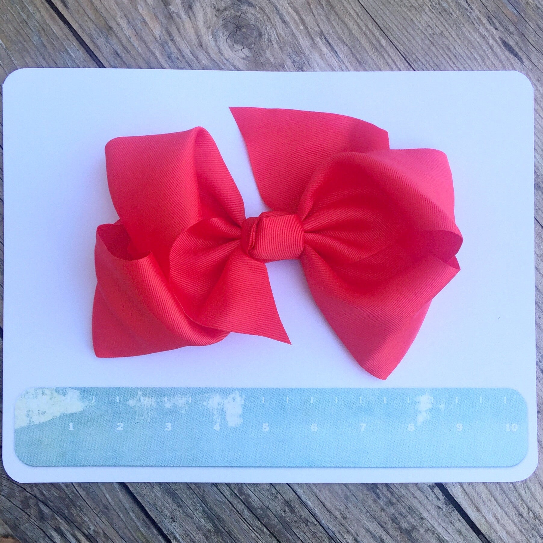 Gigantic Hair Bow - Red - Cutie Bowtutie