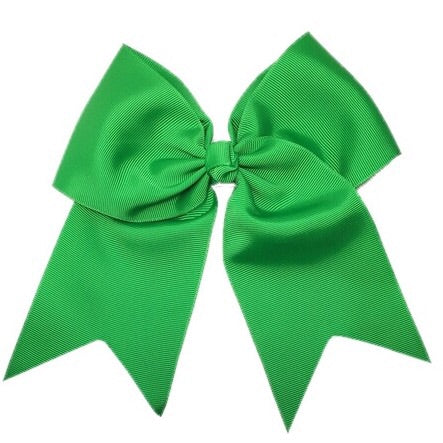 Cheer Bow - Kelly Green - Cutie Bowtutie