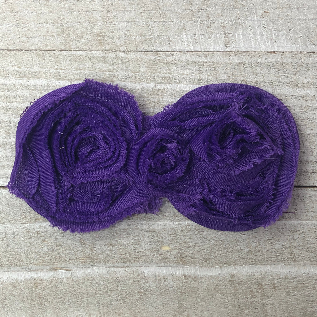 Shabby Rose - Double Purple