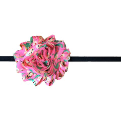 Shabby Headband - Bright Floral