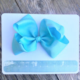Gigantic Hair Bow- Light Blue - Cutie Bowtutie