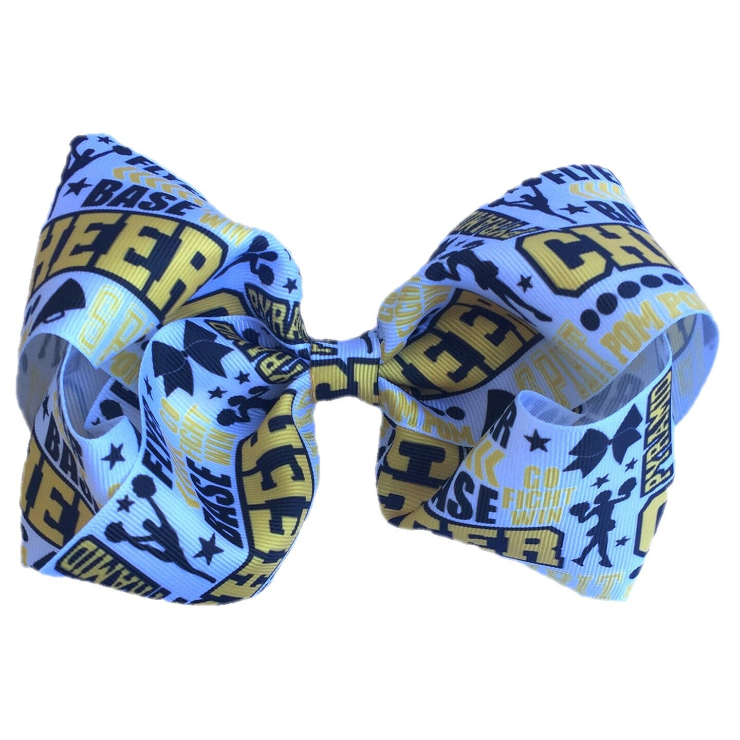 Gigantic Hair Bow- Cheer