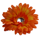 Large Daisy - Orange - Cutie Bowtutie