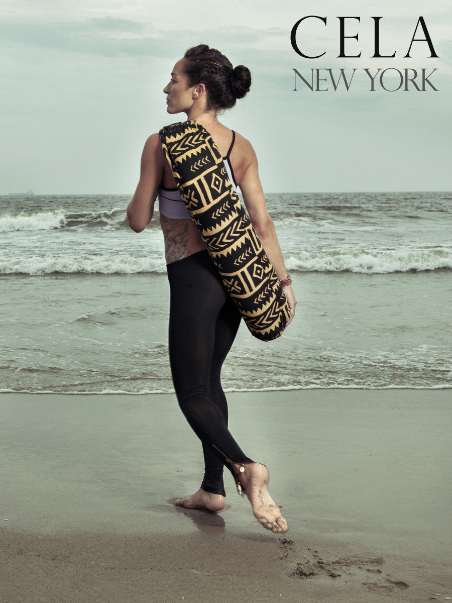 Yoga Palms Yoga Bag - Cela New York