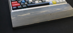 Weathered Wooden Wrist Rests - Teal Technik