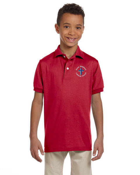 GSLS 437Y YOUTH POLO SHIRT