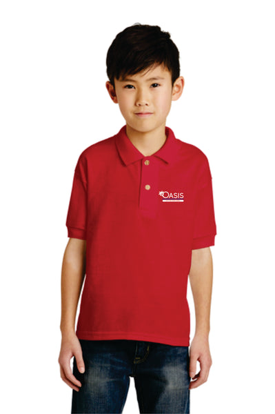 Jerzees Youth 5.6 oz. SpotShield™ Jersey Polo OEN 437Y