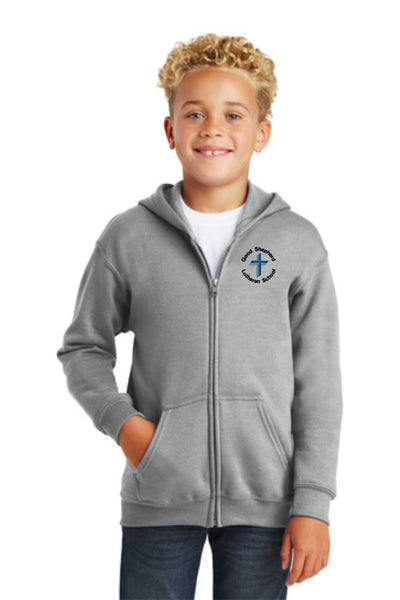 GSLS FULL ZIP SWEATSHIRT