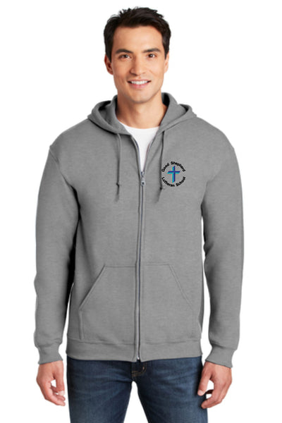 GSLS ADULT SWEATSHIRT FULL ZIP