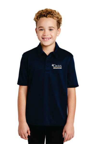 OES Port Authority® Youth Silk Touch™ Performance Polo Y540