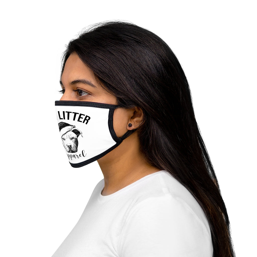 New Litter Apparel Christmas Pit Mixed-Fabric Face Mask