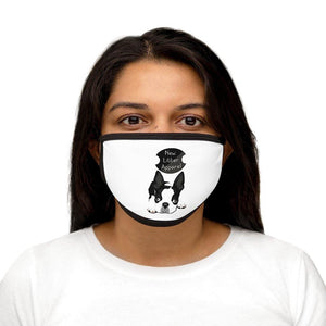 New Litter Pug Lovers Mixed-Fabric Face Mask - New Litter Apparel