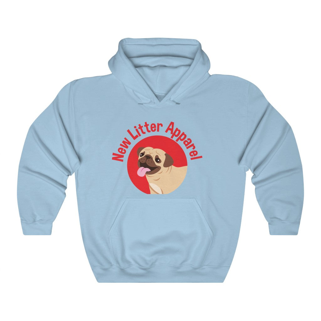 New Litter Apparel Pug Lovers Unisex Heavy Blend™ Hooded Sweatshirt