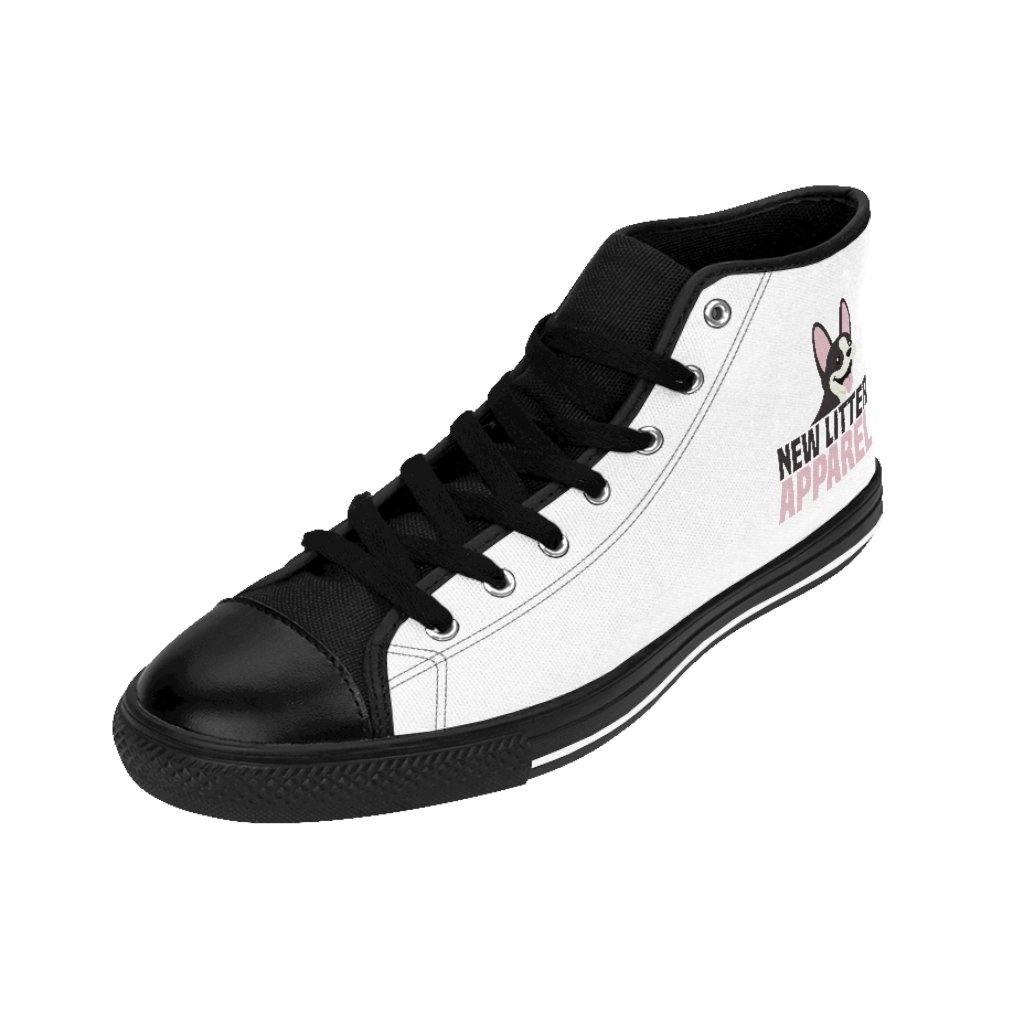 New Litter Apparel Small Dog 2 Men's High-top Sneakers - New Litter Apparel