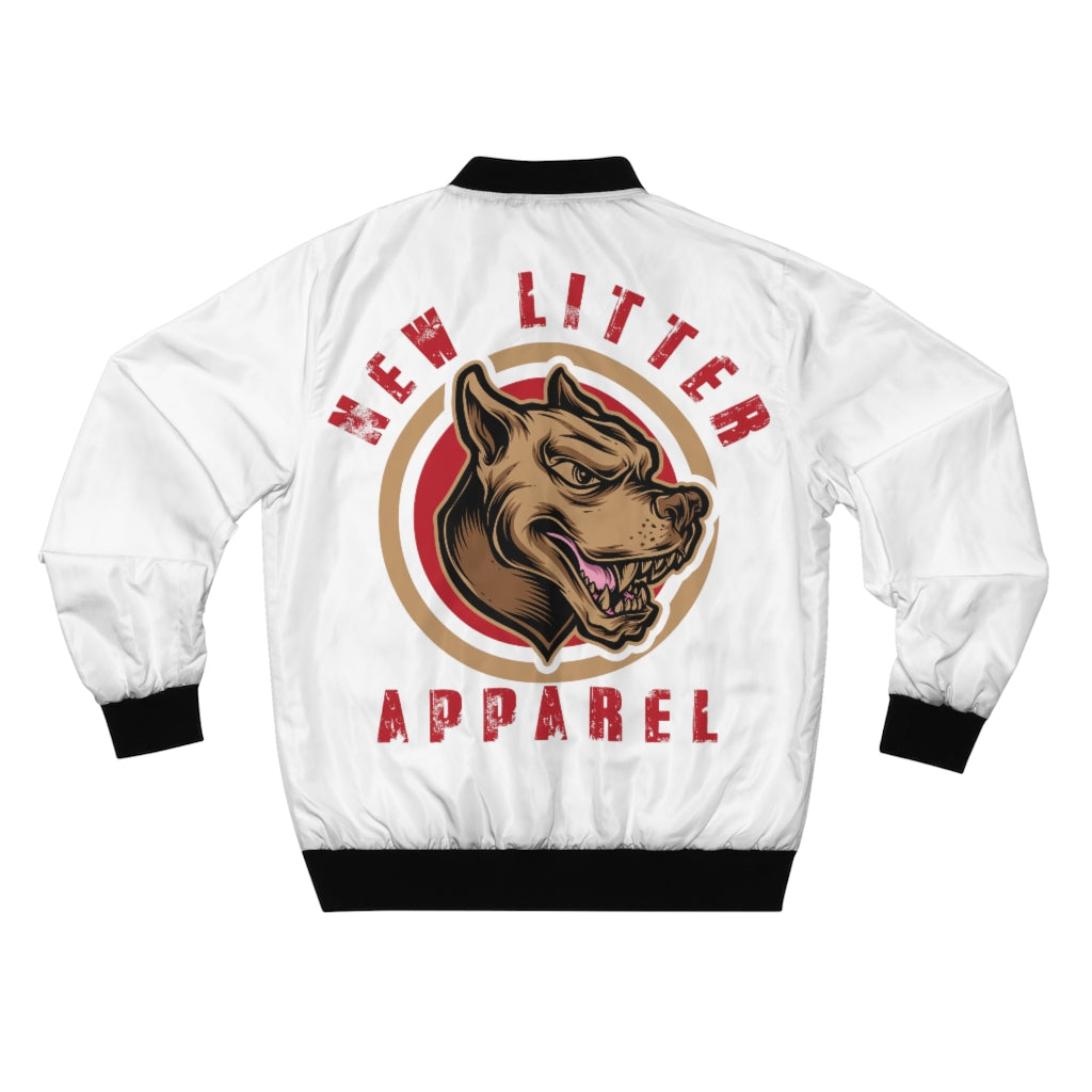 New Litter Apparel Rottweiler Men's AOP Bomber Jacket