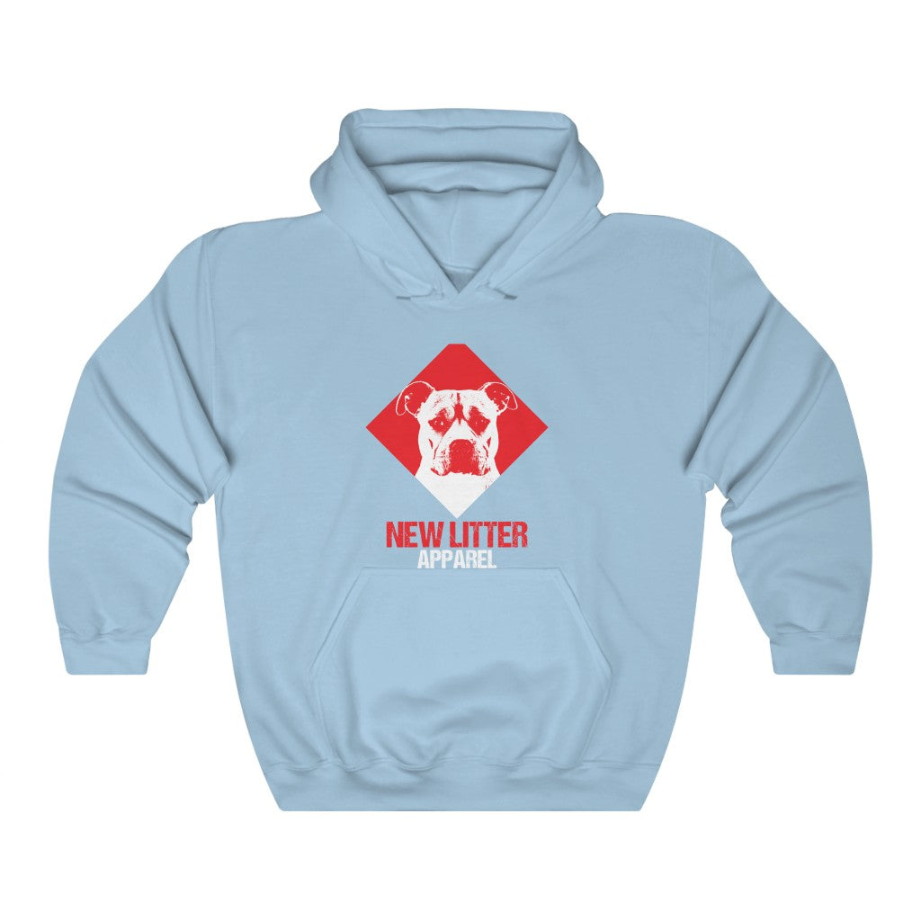 New Litter Apparel Pitbull Lovers 2 Unisex Heavy Blend™ Hooded Sweatshirt