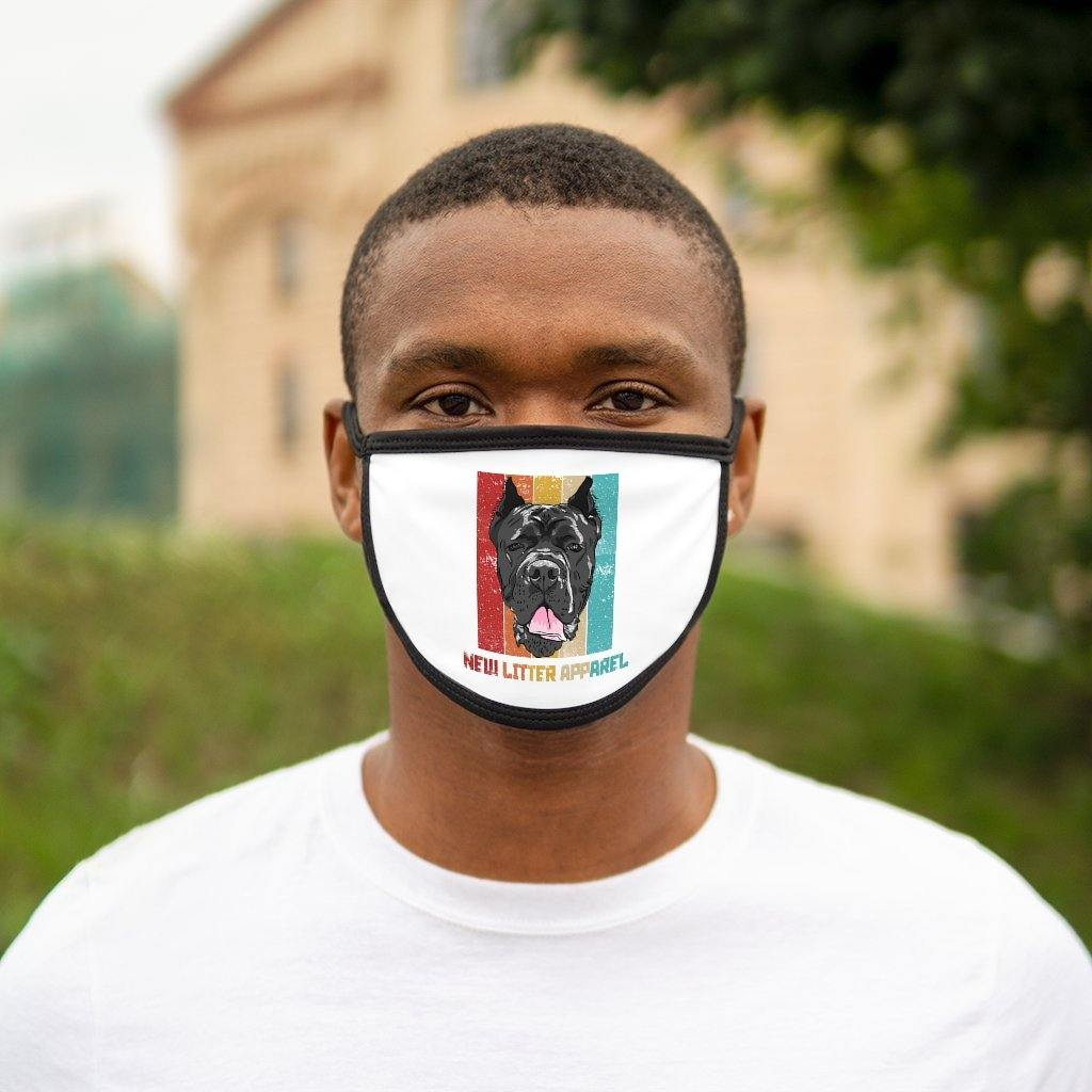 Mixed-Fabric Face Mask - New Litter Apparel
