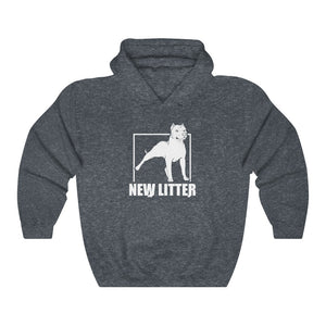 New Litter Apparel Pitbull Lovers 1 Unisex Heavy Blend™ Hooded Sweatshirt