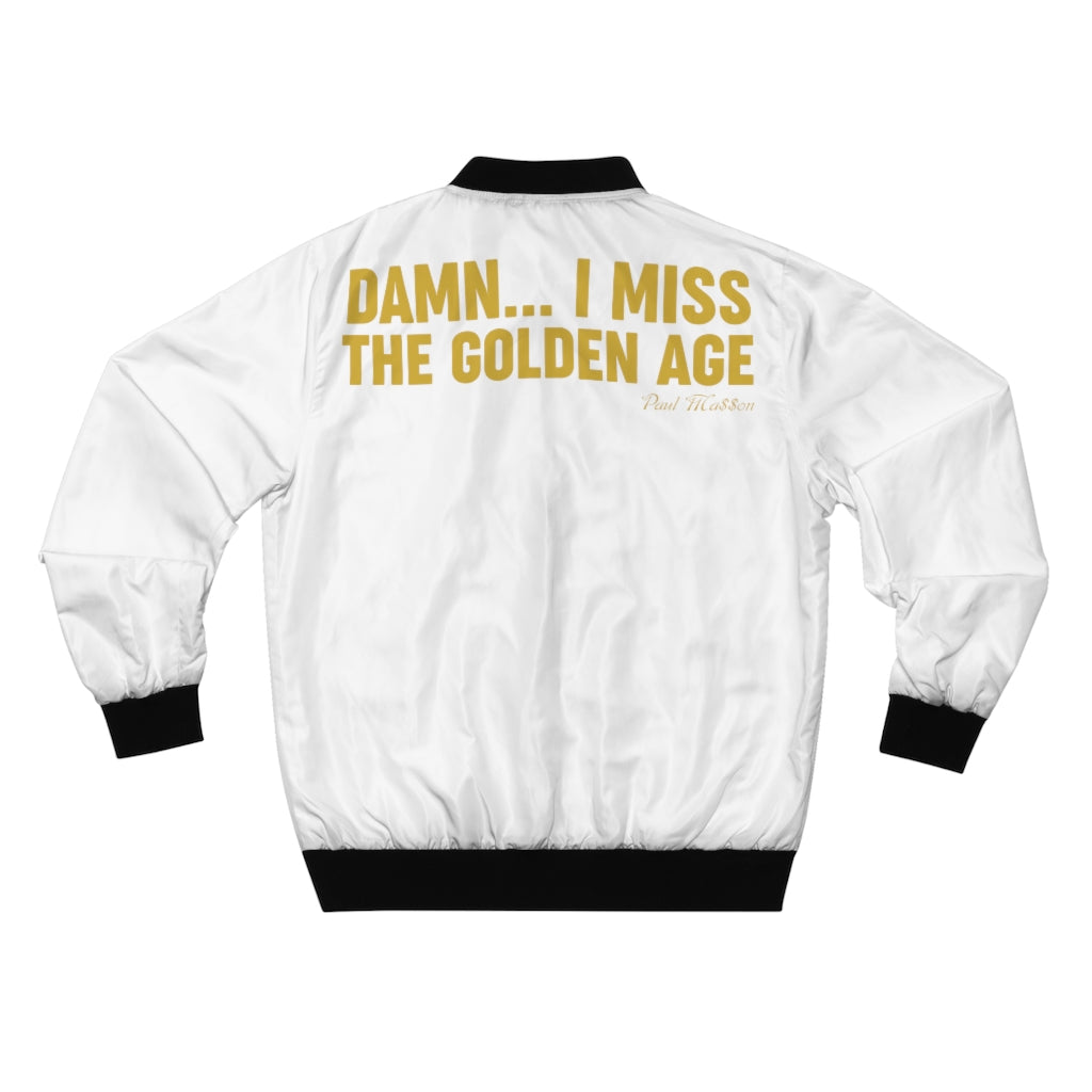 Paul Ma$$on Golden Age Men's AOP Bomber Jacket