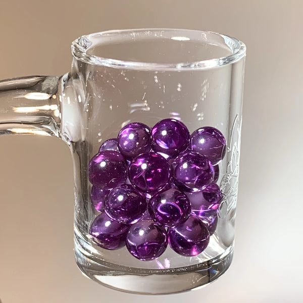 Exotic Purple Sapphire 6mm Pearls