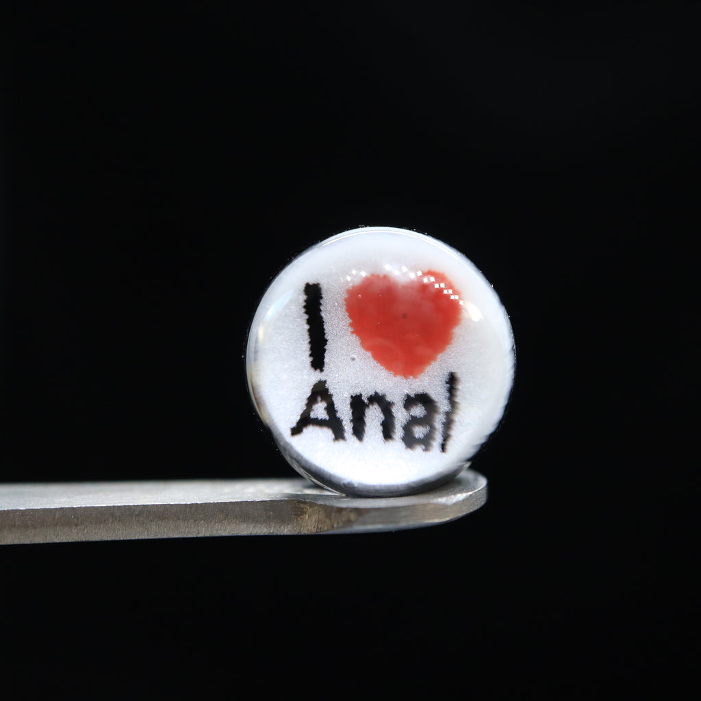 I Love Anal 12mm Valve Terp Pearl by Steve H