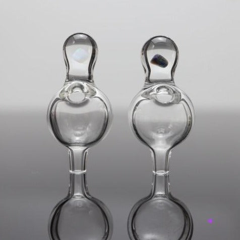 Clear Peak/Carta Bubble Caps by CPB Glass