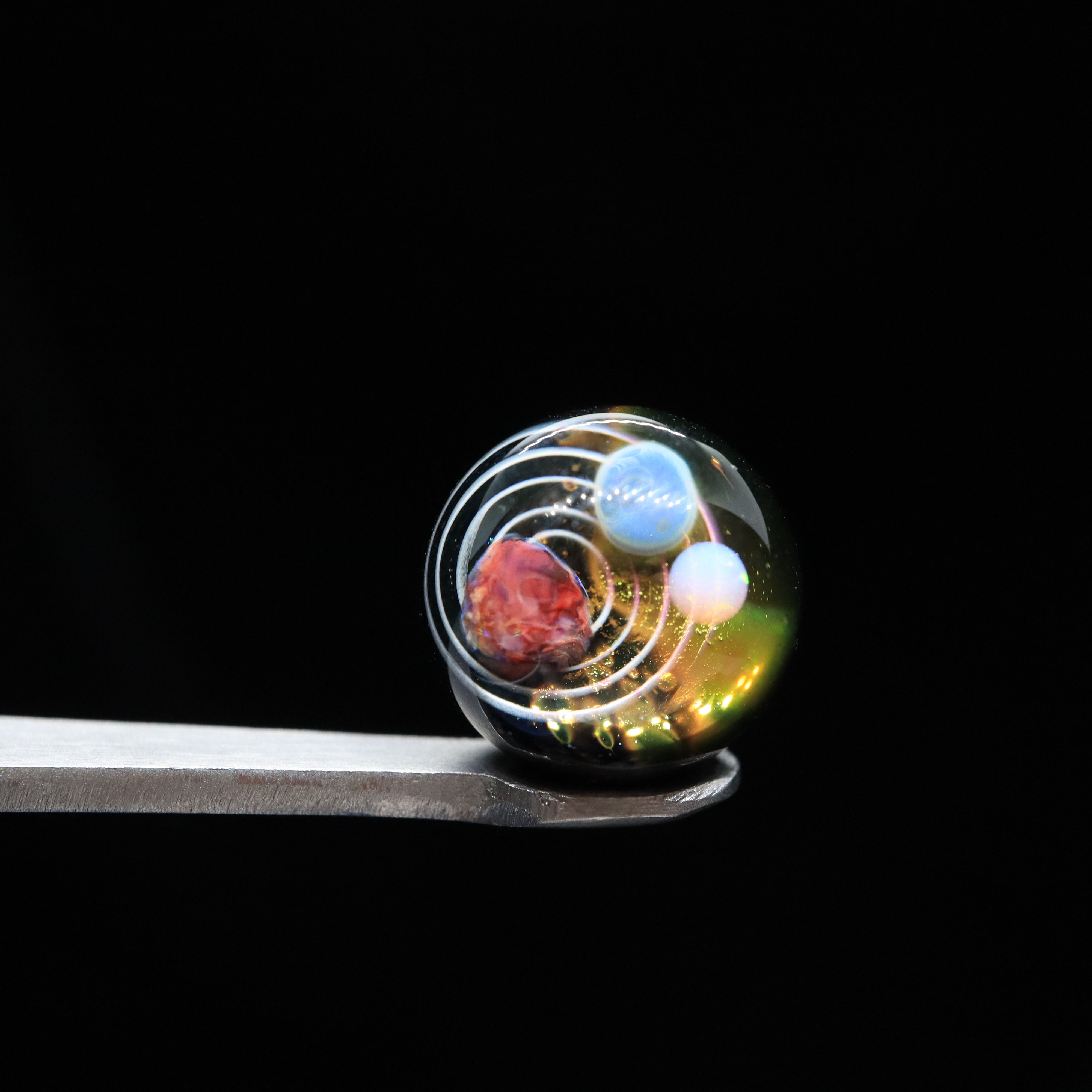 Space Valve Terp Pearls by Goba Glass (11-12mm)