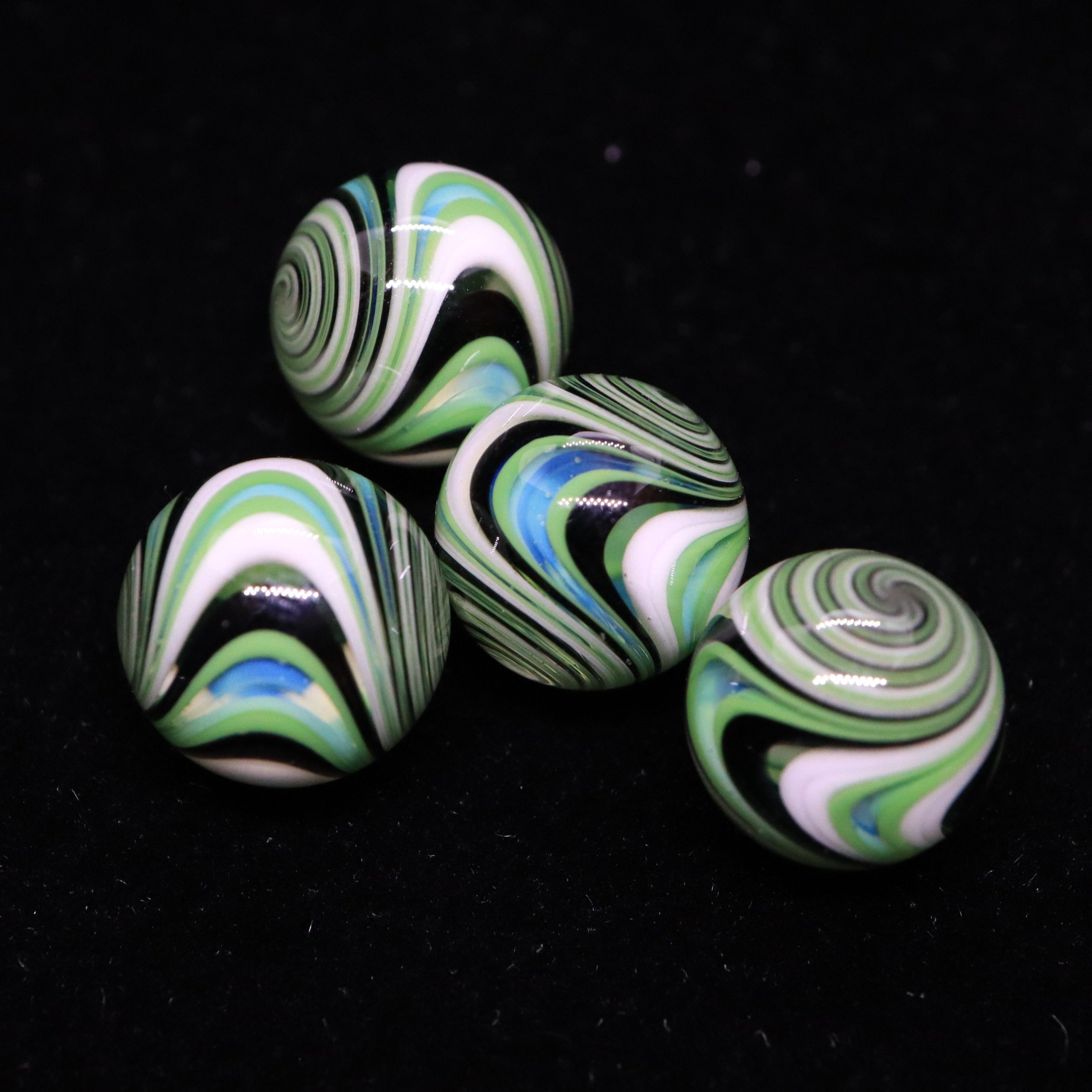 Wig Wag Terp Pearls by Willahelm Glass (6-7mm)