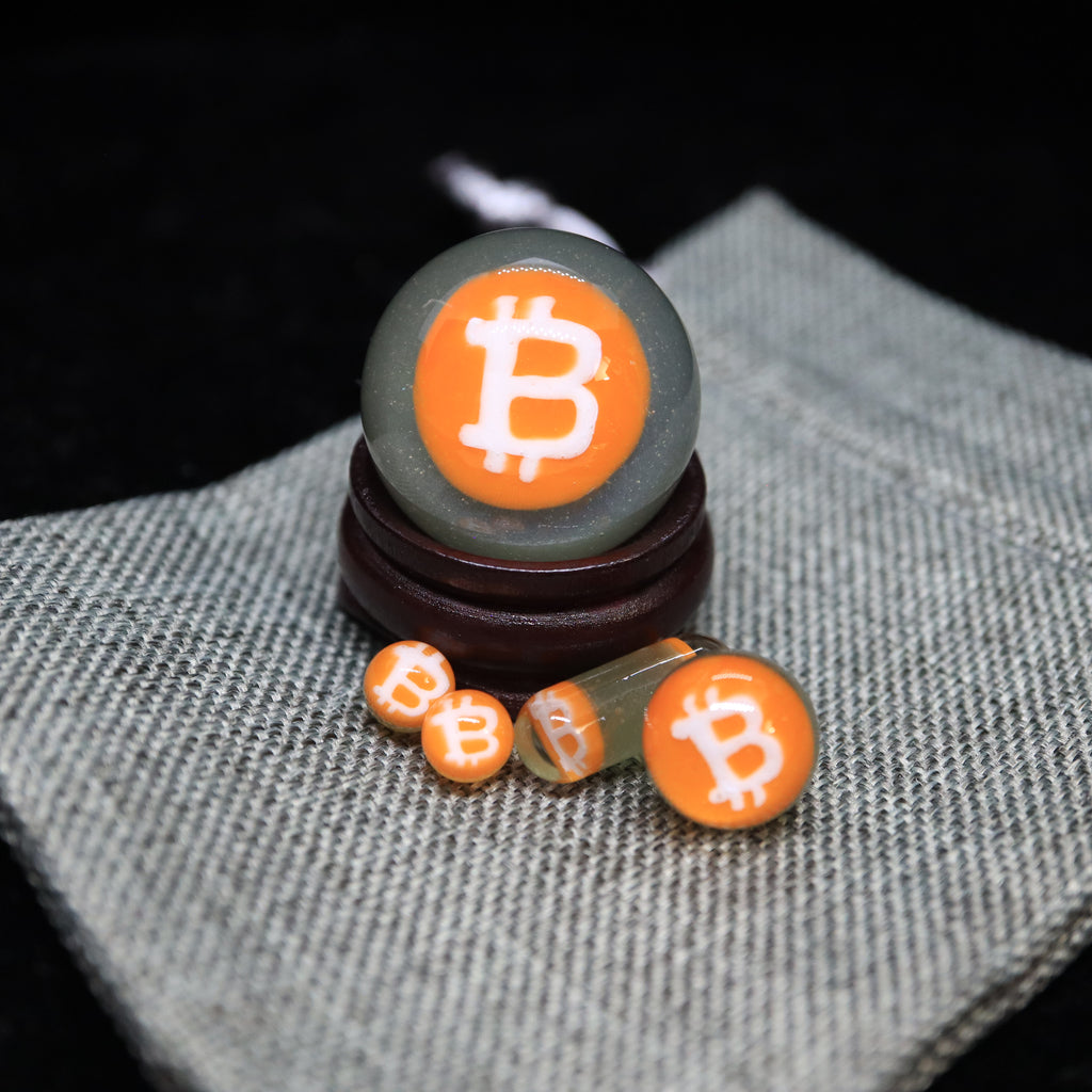 Bitcoin Slurper Sets by Steve H Glass