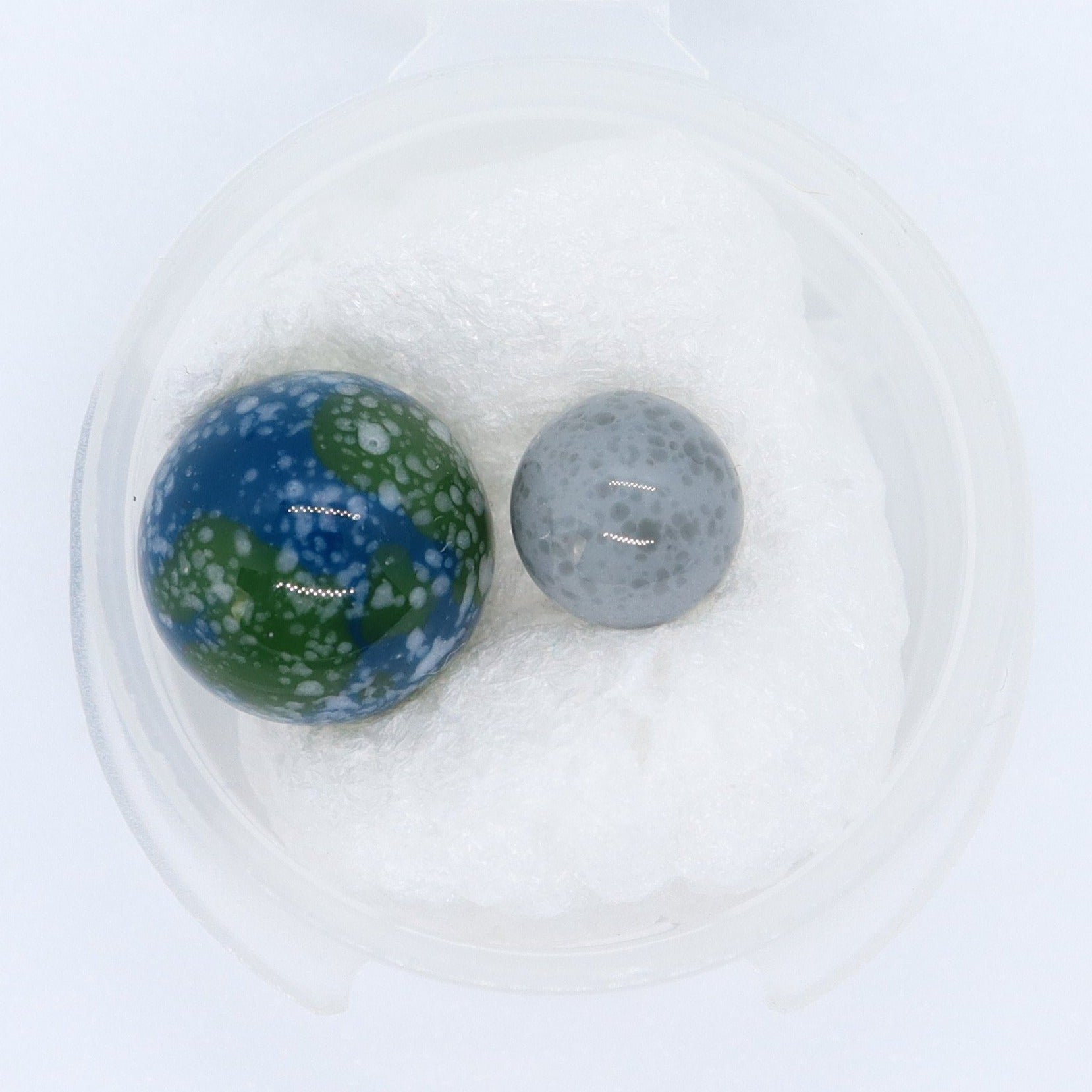 Planetary Slurper Set Terp Pearls by Goba Glass