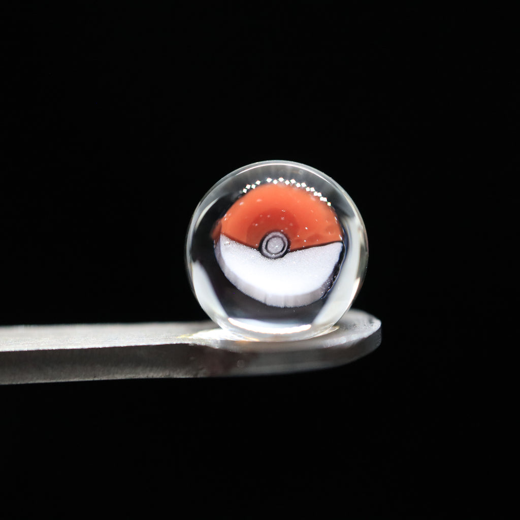 Pokeball Terp Pearls by Keys Glass