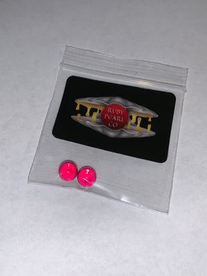 6mm Ruby Terp Pearls