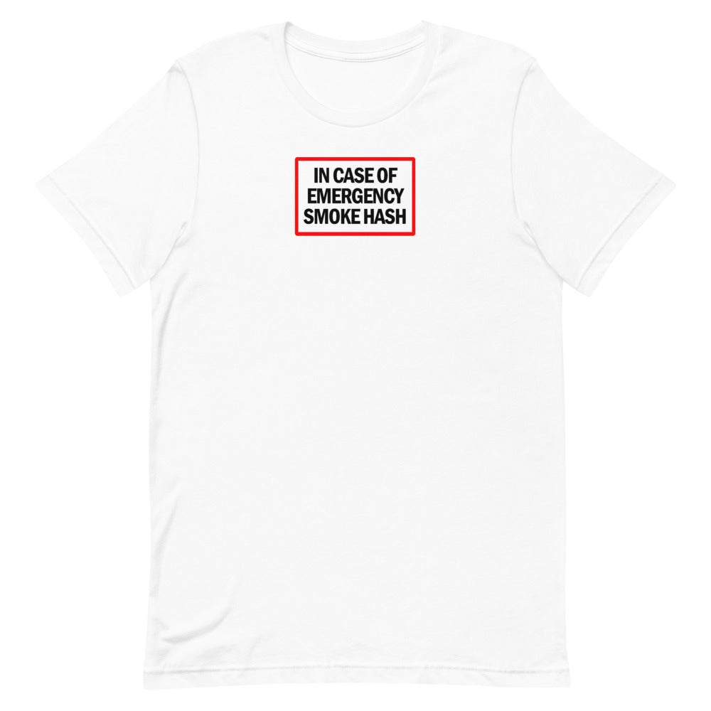 In Case of Emergency, Smoke Hash T-Shirt
