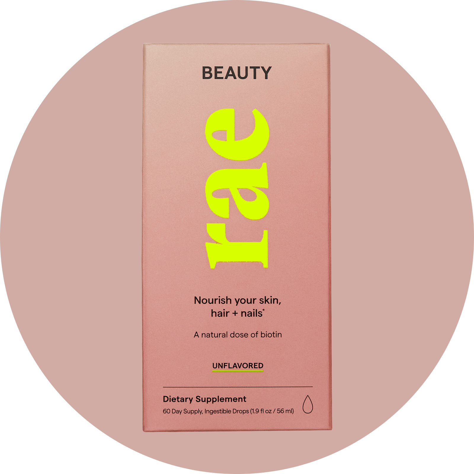 Beauty - Drops, Rae Wellness, Nourish Hair, Skin & Nails