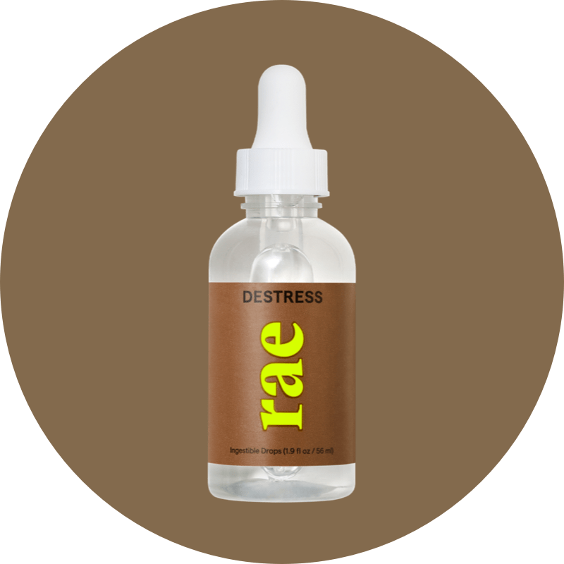 DeStress - Drops, Rae Wellness, On-The-Go Support for Stress