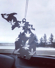 Load image into Gallery viewer, Michigan Weed Leaf Ornament