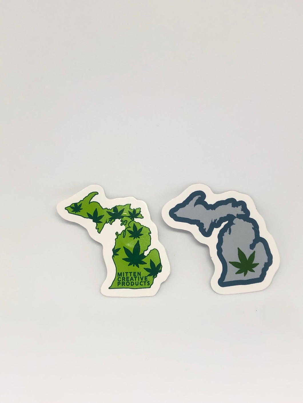 Michigan Weed Leaf Sticker (2)