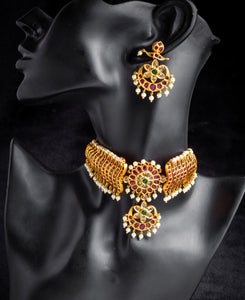 Indian Kemp Jewellery Necklace Set Australia