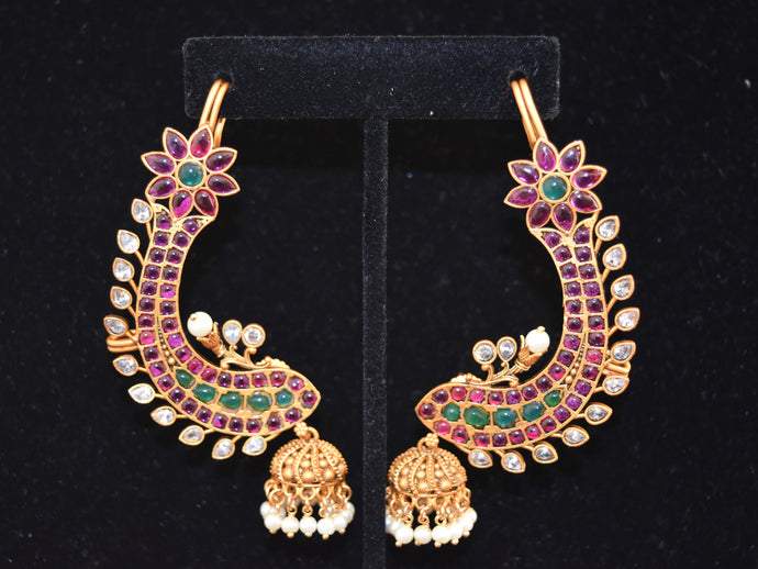 Indian Earcuff Earrings