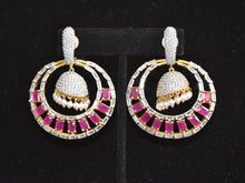Load image into Gallery viewer, Indian American Diamond Earrings