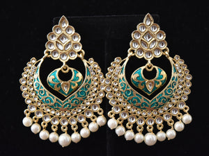 Sansa Indian Antique Earrings - VishMantra.com