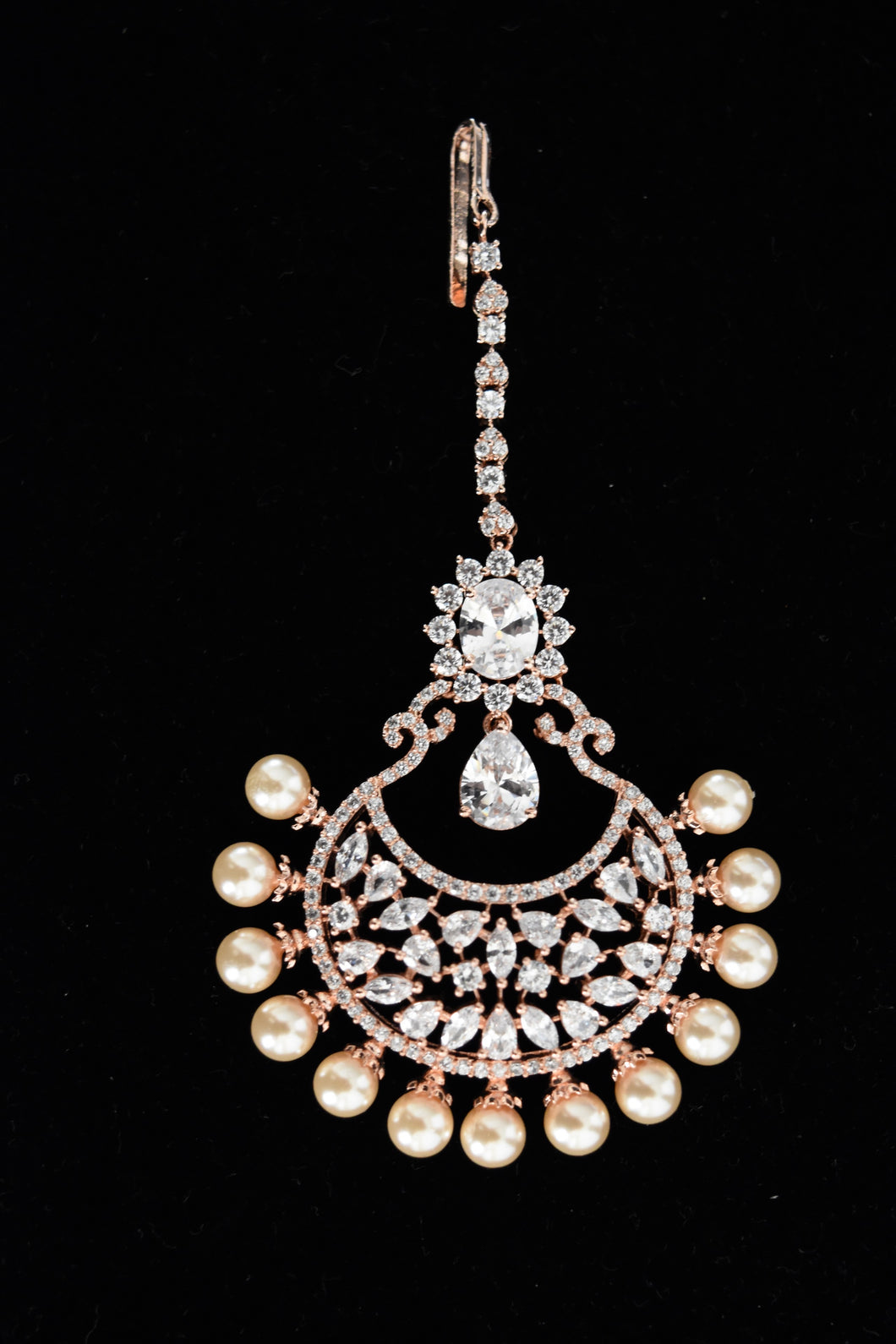 American Diamond Tikka Jewellery
