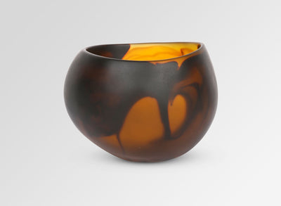 Small Resin Flow Dish - Tortoiseshell