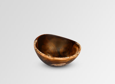 Resin Flow Spice Dish - Dark Horn