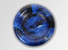 Large Resin Mother of Pearl Dish - Lapis Swirl