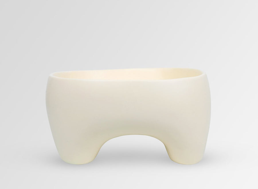 Large Offering Bowl - Cream
