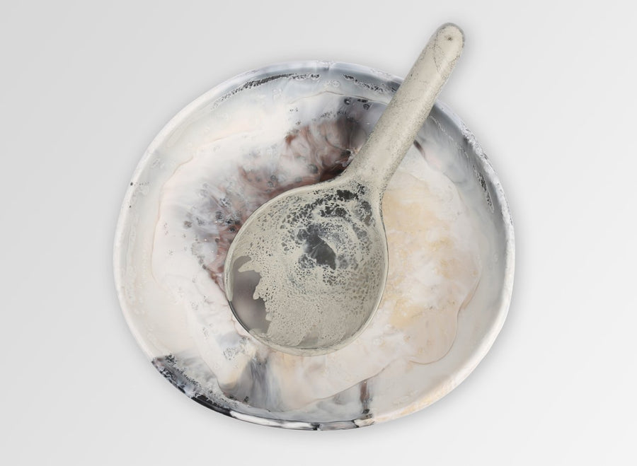 Large Round Resin Spoon - Dusk